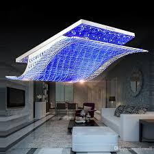 großhandel 65 cm 81 cm 108 cm moderne kristall licht kronleuchter deckenleuchte rechteckige wohnzimmer schlafzimmer leuchten anhänger droplight