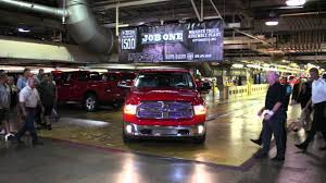 First 2013 Ram 1500 Off The Production Line - YouTube Ram Moves Heavy Duty Truck Production To Michigan From Mexico 2014 1500 Ecodiesels Roll Out Diesel Power Fiat Invest 1 Billion In New Ohio Plants Create 2000 Sterling Celebrates News Of Major Fca Plant Investment Will Bring 700 New Jobs Detroitarea Truck Plant Fortune Heist No Leads On Theft Chrysler Plan Produce More Detroit Has Ripples Vesting 63 Million Warren Stamping Part Massive Production At The Assembly