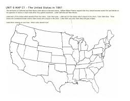 Us Map With States Unlabeled Of Usa Coloring Home Best State