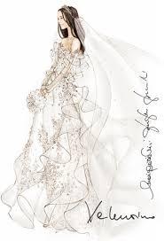 Designer Wedding Dress Sketches