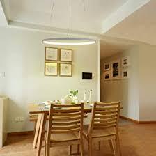 pendelleuchte led dimmbar esszimmer modern runde le design 1 ring hängeleuchte kronleuchter dekoration beleuchtung leuchte wohnzimmer esstisch