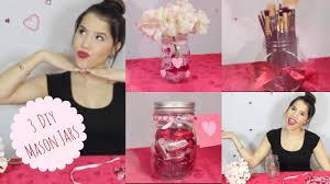 3 Valentines Day Mason Jars