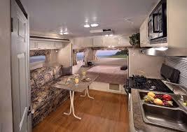 Rv Campers Travel Trailer Interior