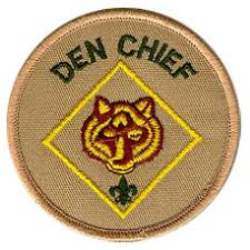 Cub Scout Committee Chair Patch Placement by Cub Scout Den Chief