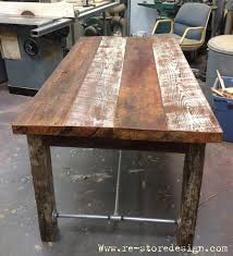 Diy Reclaimed Wood Table Top by 21 Best Decor Farm Tables Images On Pinterest Home Painted