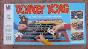 Donkey Kong Board Game Complete 1980s Vintage