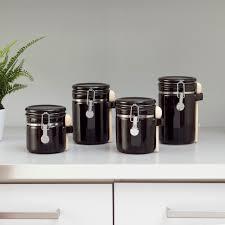 Ceramic Kitchen Canister Sets 4 Ceramic Kitchen Canister Set