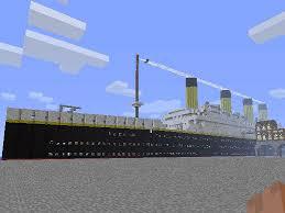 Minecraft Titanic Sinking Map by Minecraft Titanic Download Chip