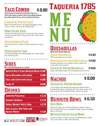 Taqueria 1785 Food Truck | UGA Dining Services