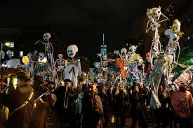 Portsmouth Halloween Parade Thriller Dance by Nyc Halloween Events To Scare You Silly It Was My First Halloween
