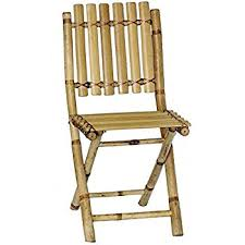 Stakmore Folding Chairs Amazon by Amazon Com Bamboo Folding Chair Set Of 4 Kitchen U0026 Dining