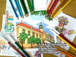 Jakarta Jakartaindonesia Indonesia Jkt Ilovejakarta Museumfatahillah Museumfatahilah Adultcoloringbook Coloringbook Bukumewarnai Mewarnai