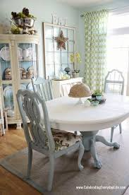 Elegant Chalk Paint Dining Room Table 6 Painted Tables