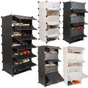 Simms Modern Shoe Cabinet Assorted Colors by Tall Shoe Cabinets With Doors