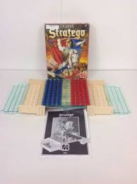 Vintage Jumbo Stratego Travel Mini Board Game Complete Good Condition