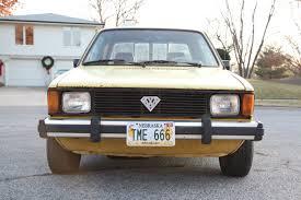 100 Rabbit Truck 1981 Vw Volkswagen Mk1 LX Diesel Pickup Caddy 16l 5