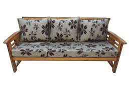 Wooden Sofa Set With Cushions
