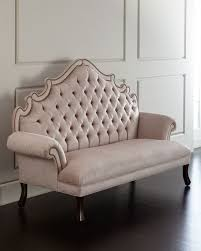 Daniella Tufted Banquette, Pink - Haute House   *Neiman Marcus ... Diy Tufted Kitchen Banquette All Images Make An Easy Entryway Fniture Bench Breakfast Nook Ikea How I Built A Channel Storage A Beautiful Mess Stupendous High Back Seating Booth Pictures On Fabulous Table Avec Ding Tables Corner With Amazoncom Baxton Studio Owstynn Gray Linen Modern Accommodation For Bedroom Curious Small Tags Mudroom Seat Cushions Uk Sale Full Size Of French Upholstered Bench Set Thin Curved Curve Round And