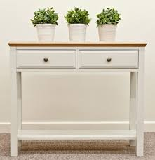 Narrow Sofa Table With Drawers by Intone Hall Table Hereford Intone Occasional Solidwood