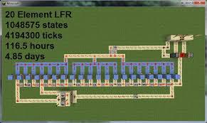Flashing Redstone Lamp Minecraft by Clock Circuit U2013 Official Minecraft Wiki