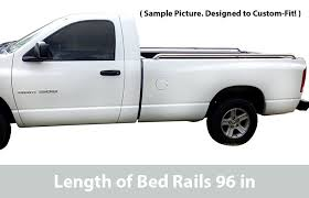 tyger custom fit 04 14 ford f150 96 inch 8 bed