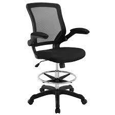 Modway Veer Drafting Chair In Black - Reception Desk Chair - Tall Office  Chair For Adjustable Standing Desks - Flip-Up Arm Drafting Table Chair… Fiber Side Chair Swivel W Castors A Modern Scdinavian 3 Ways To Increase The Height Of Ding Chairs Wikihow Nelson Platform Bench Herman Miller 8 Common Office Mistakes Avoid Huffpost Life Soul Seat Fniture For Schools Commercial Markets Scolhouse Art Sitting Posturite Anda Jungle Series Blue Gaming Armchair Wood Base An Embracing Comfort Recliner And Lounge Options Tall People Dgarden The Best Gaming Chairs 2019 Pc Gamer