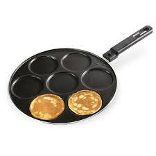 poele a pancake induction poêle 26 cm 7 blinis ou pancakes aluminium manche amovible