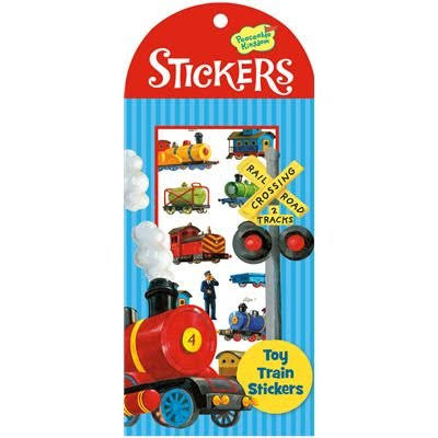 Peaceable Kingdom Sticker Pack - Toy Train