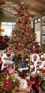 Christmas Decor. Christmas Tree Theme. Traditional. Nostalgic ... Pottery Barn Christmas Catalog Workhappyus Red Velvet Tree Skirt Pottery Barn Kids Au Entry Mudroom 72 Inch Christmas Decor Cute Stockings For Lovely Channel Quilted Ivory 60 Ornaments Clearance Rainforest Islands Ferry Monogrammed Tree Skirts Phomenal Black Andid Balls Train Skirts On Sale Minbelgrade