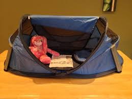kidco peapod travel bed p103 periwinkle great condition tent