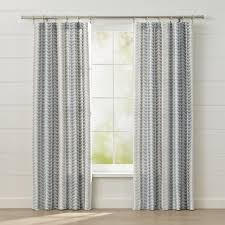 geometric pattern curtains canada curtain panels and window coverings crate and barrel