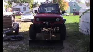100 Atv Truck ATV Plow On A The Raider Gets A Mini Plow Driveway YouTube