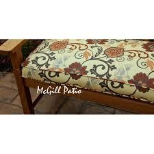 Calm Outdoor Bench Seat Cushions Make Outdoor Bench Rhomba
