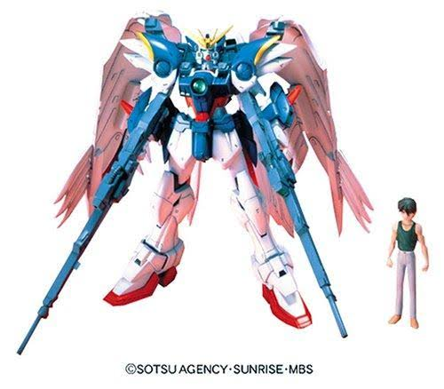 "Bandai Hobby EW-02 High Grade ""Endless Waltz"" Wing Gundam Zero Custom Model Kit - 1:100 Scale"
