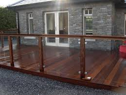 100 Clearview Decking Hardwood With Glass Balustrade Garden Ideas In 2019 Deck