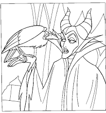 Disney Movie Princesses Maleficent Free Printable Coloring Pages The Sleeping Beauty