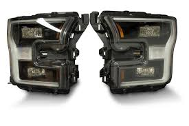 100 Ford Truck Oem Parts Pair 201517 F150 OEM LED Headlights The HID Factory