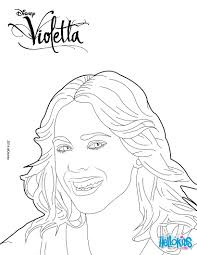 Violetta Coloring Pages
