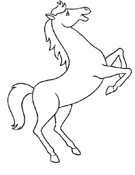 Animal My Horse Coloring Book Horse Pictures To Color And Print