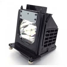 Mitsubishi Projector Lamp Replacement by Mitsubishi Wd 73733 Replacement Lamp With Housing