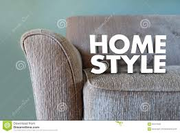 100 Words For Interior Design Home Style Couch Furniture Decor Stock