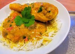 cuisine au lait de coco poulet au curry et lait de coco je cuisine créole