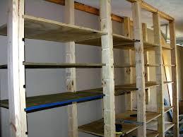wooden garage shelvingbuilding shelving ideas building storage