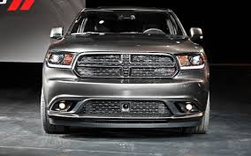 2015 Dodge Durango Captains Chairs by 2014 Dodge Durango First Look Motor Trend