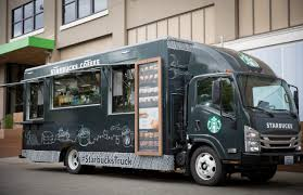 100 Food Truck For Sale Nj Starbucks Rolls Its Own Coffee Truck In Front Of Seattle HQ To