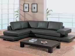 Dark Brown Leather Couch Living Room Ideas by Living Room Small Leather Sectional Sofa Luxury Furniture Best