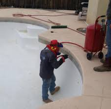 pool and spa tile cleaning and plaster cleaning albuqueque and