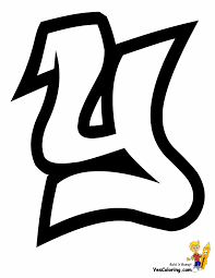 100 Grafitti Y Throw Up Graffiti Coloring Pages Free Alphabet Coloring Pages
