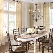Arstar With Farmhouse Dining Room Also Chandelier Curtain Panels Custom Curtains Drapery Fabric Euro Pleat Place Setting Placemat Placemats Pleated