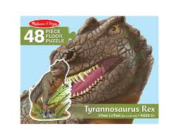 Melissa And Doug Dinosaur Floor Puzzles by Buy Melissa U0026 Doug T Rex 48 Pc Floor Online At Low Prices In India